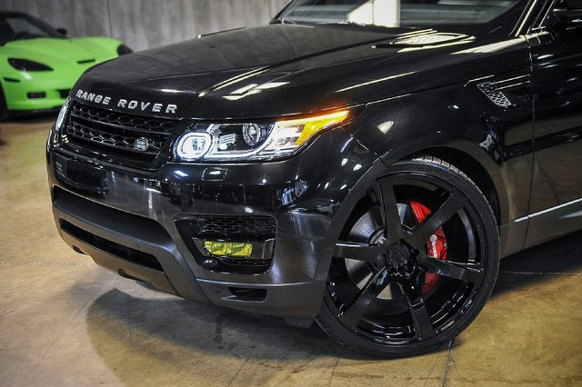 Range Rover Sport On Velos Designwerks Solo Vi Forged Wheels Velos Designwerks Performance