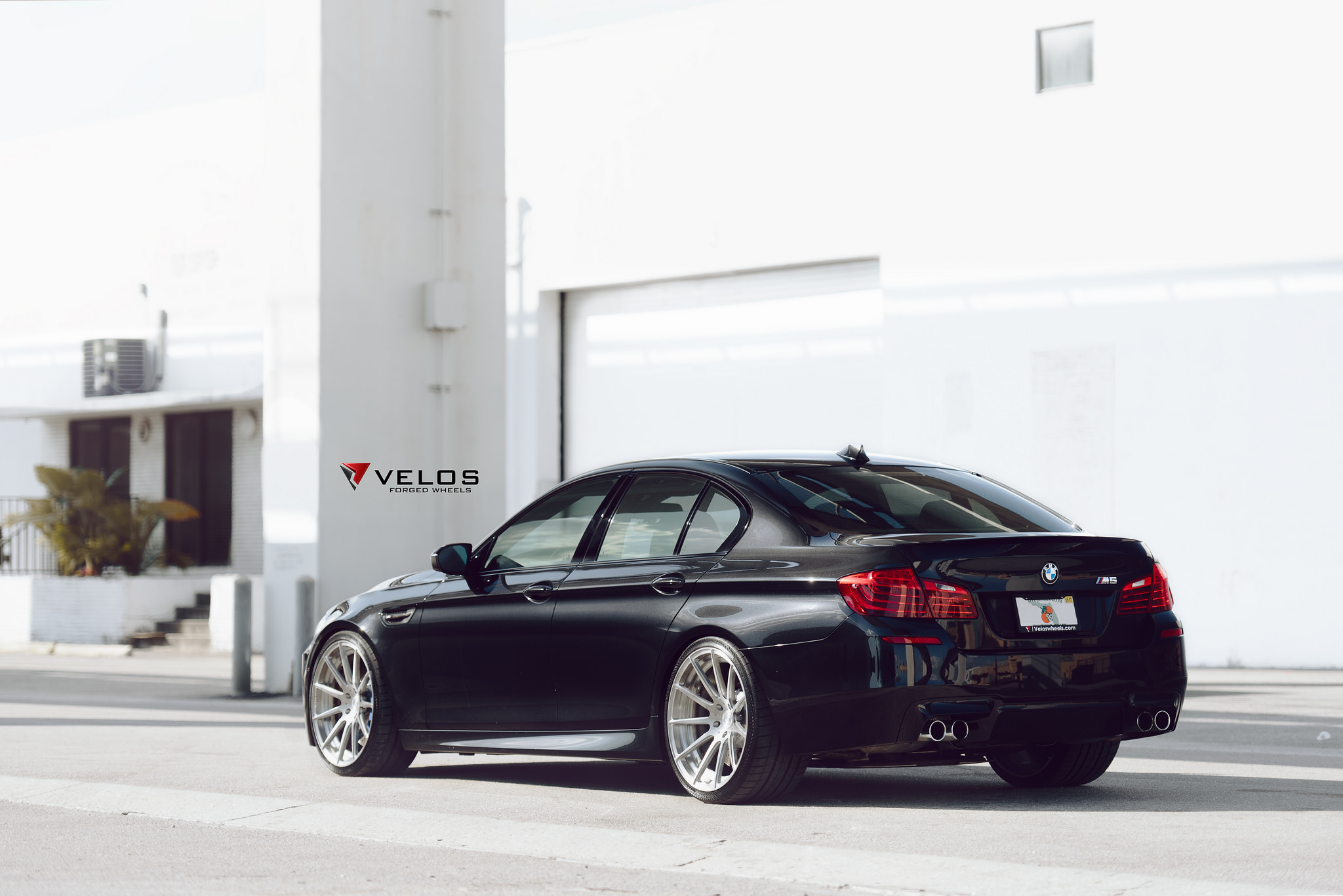Bmw F10 M5 On Velos S2 2 Pc Forged Wheels Velos