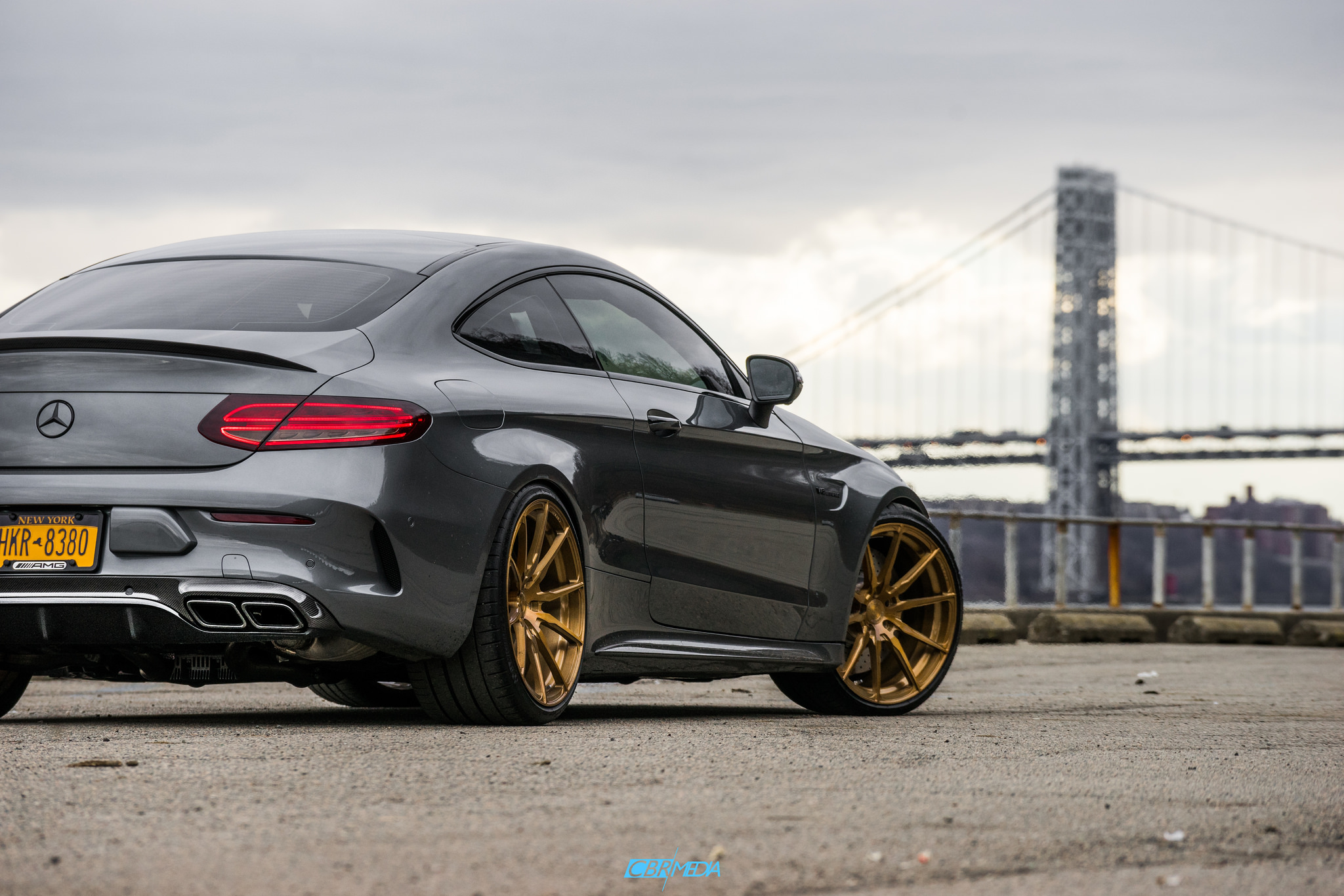 Mercedes AMG C63 Coupe on Velos S10 1 pc Forged Wheels