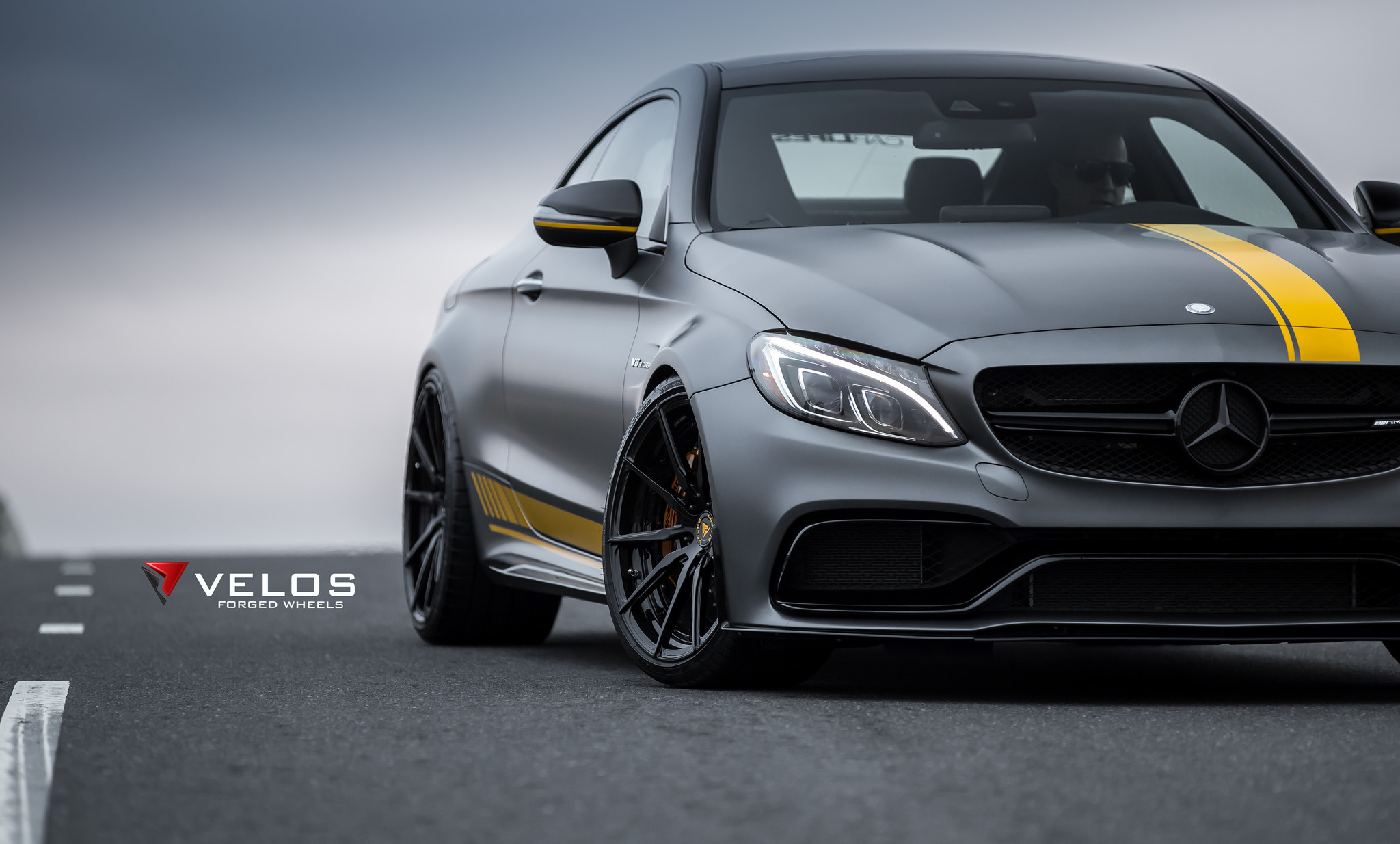 mercedes amg c63s edition 1 coupe on velos s10 forged. Black Bedroom Furniture Sets. Home Design Ideas