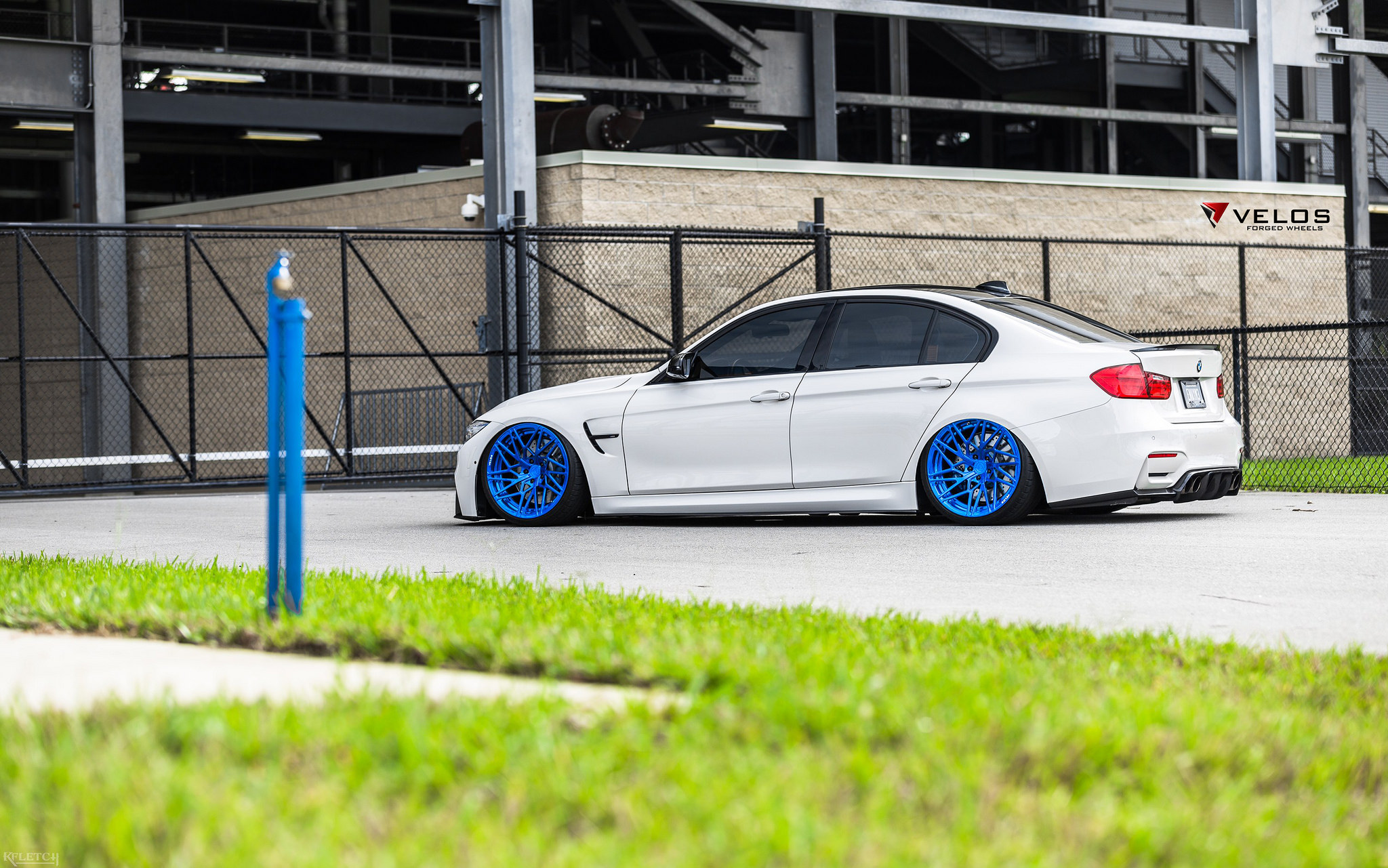 Bmw F80 M3 Bagged On Velos D7 Forged Wheels Velos Designwerks Performance Tuning Autosalon
