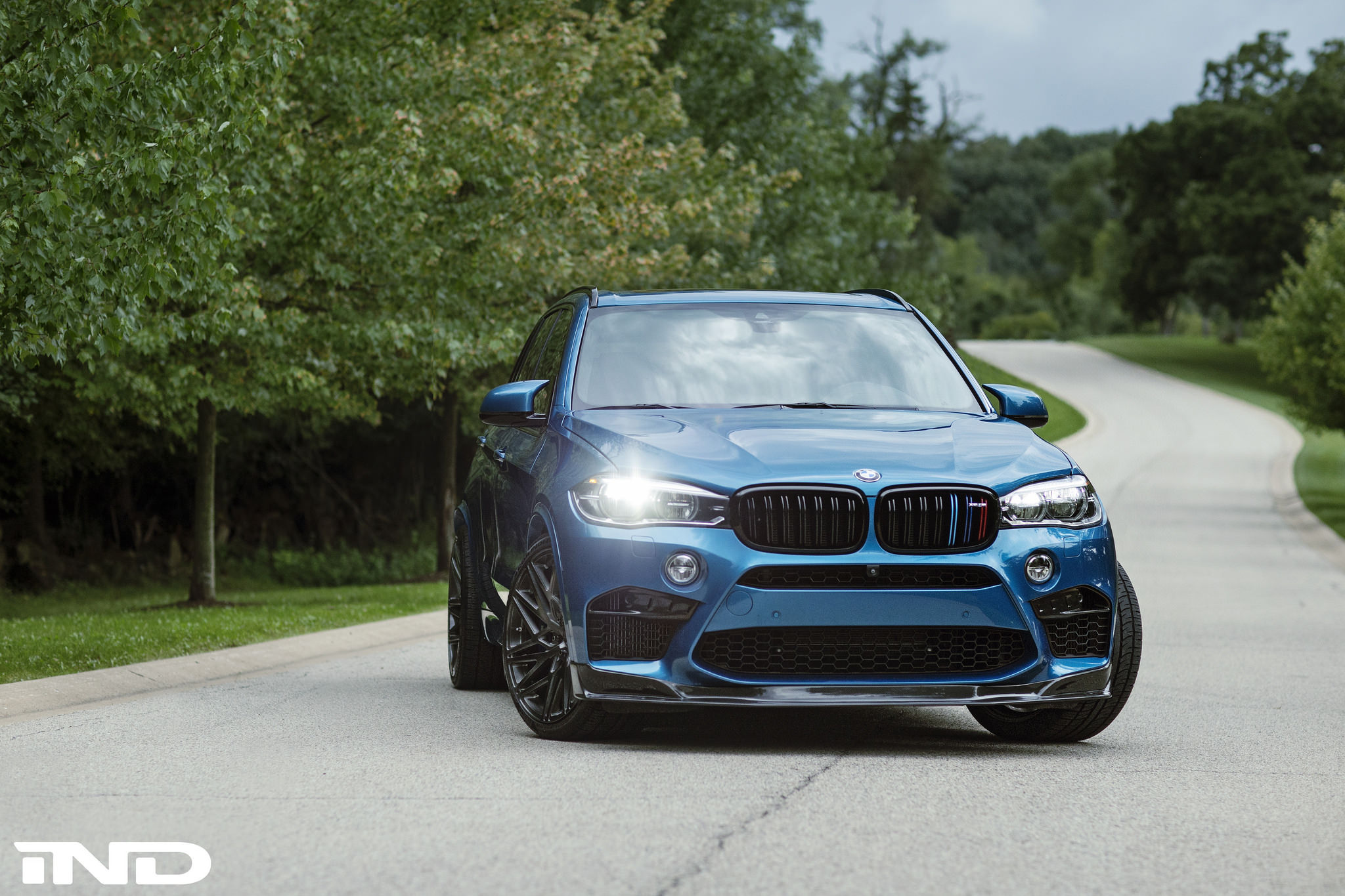 Bmw F85 X5m By Ind On Velos D7 Forged Wheels Velos